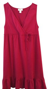 Ann Taylor LOFT short dress Magenta on Tradesy
