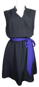 Express short dress Black Purple Little on Tradesy