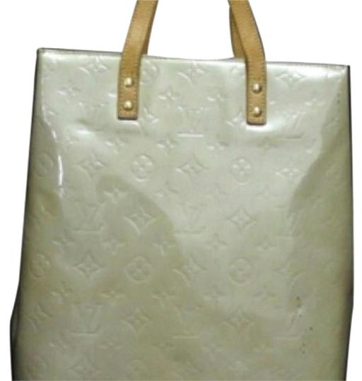 Louis Vuitton Tote in Creme Image 3
