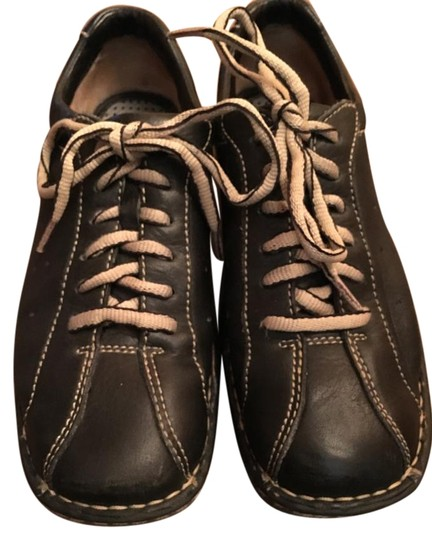 Preload https://img-static.tradesy.com/item/17711737/born-black-womens-solid-oxford-leather-casual-loafers-lace-up-flats-size-us-65-regular-m-b-0-2-540-540.jpg