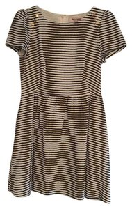 Juicy Couture Stipes Shimmer Flirty Dress