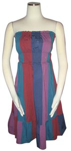Marc Jacobs short dress Multi-Color Strapless on Tradesy