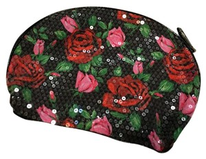 Betsey Johnson floral sequined Travel Bag