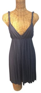 Gap short dress Navy & White Polka Dot V-neck on Tradesy