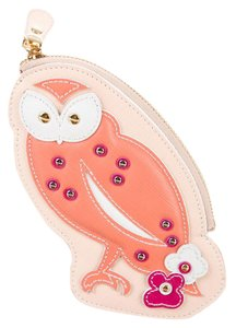 Salvatore Ferragamo SALVATORE FERRAGAMO LEATHER OWL COIN POUCH