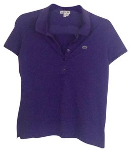 Lacoste T Shirt Purple.