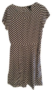 J.Crew short dress Navy and White Stripes Work Pockets on Tradesy