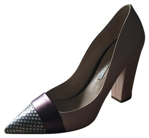 Nicholas Kirkwood Blush, Purple, Pattern Pumps