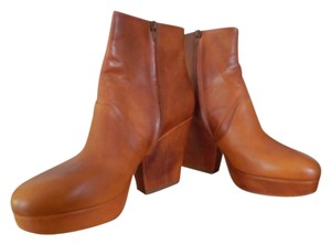 Maison Margiela Leather Brown Boots