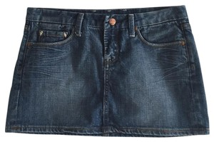 Vigoss Mini Skirt Perfect Denim Blue
