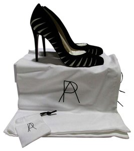 Paul Andrew Zebra stripe Pumps