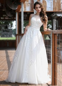DaVinci Bridal 50291 Wedding Dress
