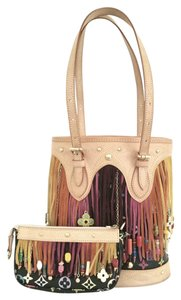 Louis Vuitton Multicolore Fringe Limited Edition Bucket Shoulder Bag