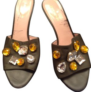 Kate Spade Charcoal Sandals