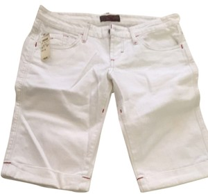 James Jeans Shorts White