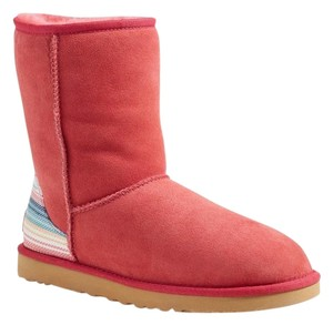 UGG Australia Sunset Red Suede Boots