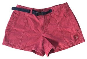 American Eagle Outfitters Mini/Short Shorts Dusty Mellow Red