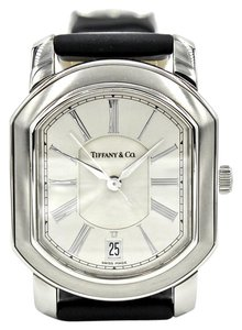 Tiffany & Co. Tiffany & Co. Mark Coupe Stainless Steel Automatic Men's Watch with Pouch