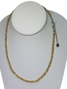 Lori Bonn Lori Bonn Citrine Quartz and Sterling Silver Necklace