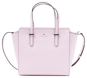 Kate Spade Leather Gold Hayden New With Tags Satchel in Pink Blush