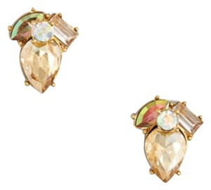J.Crew Brand new J. Crew Golden Crystal Crystal Earrings