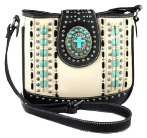 Montana West Spiritual Wood Beads Cross Body Bag