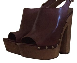 Steve Madden Cognac brown Platforms