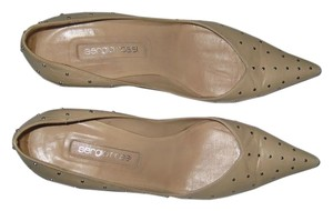 Sergio Rossi 39 light tan nude Pumps