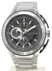 Armani Exchange Armani Exchange Gunmetal Stainless Steel Chronograph Watch