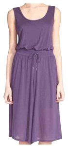 Purple Maxi Dress by Helmut Lang