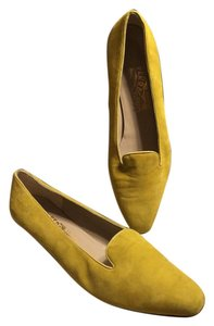 Salvatore Ferragamo Mustard Gold/Beige interior Pumps
