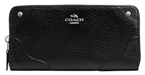 Coach F55404 Mickie LEATHER Accordion Zip Wallet