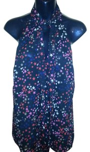Trina Turk Multicolor Stars Top multi-color