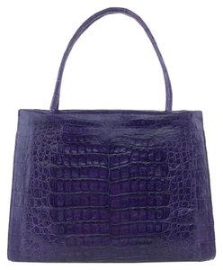 Nancy Gonzalez Satchel in Purple