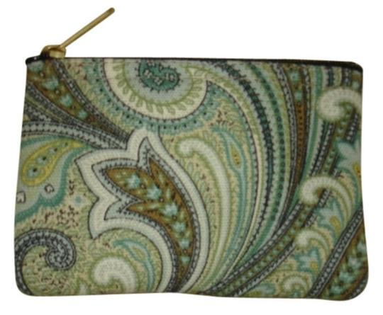 Preload https://item3.tradesy.com/images/aqua-brown-tan-white-and-gold-bags-and-handcrfted-in-usa-coin-purse-new-wallet-1771812-0-0.jpg?width=440&height=440