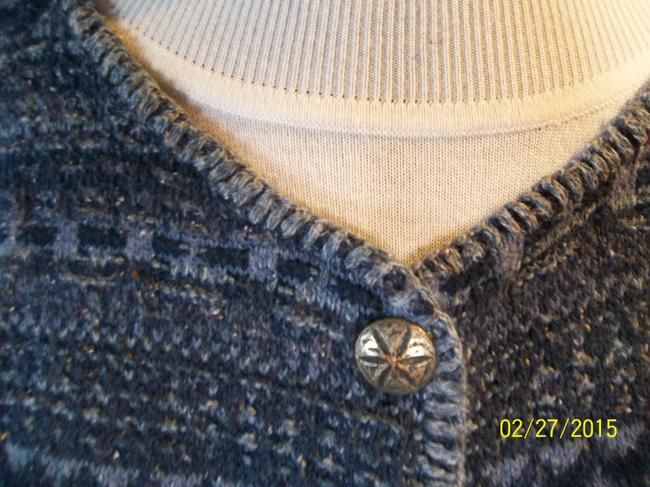Alps Cardigan Heather Quality Casual Career Embellished Buttons Sweater