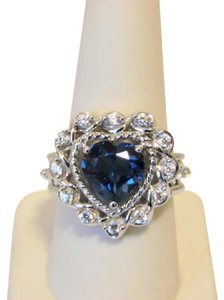 Victoria Wieck Victoria Wieck 4.08ctw London Blue Topaz Ring 10