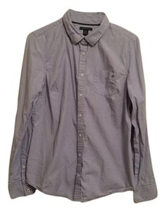 Tommy Hilfiger Button Down Shirt purple