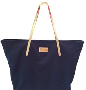 Lilly Pulitzer Tote in Navy and Gold