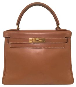 Hermès Hermes Kelly Kelly 28 Tote in Natural Gold