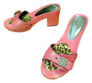Marc by Marc Jacobs Pink Mules