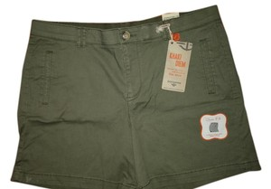 Dockers Cuffed Shorts Green