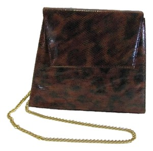 Timothy Hitsman Brown Clutch Shoulder Bag