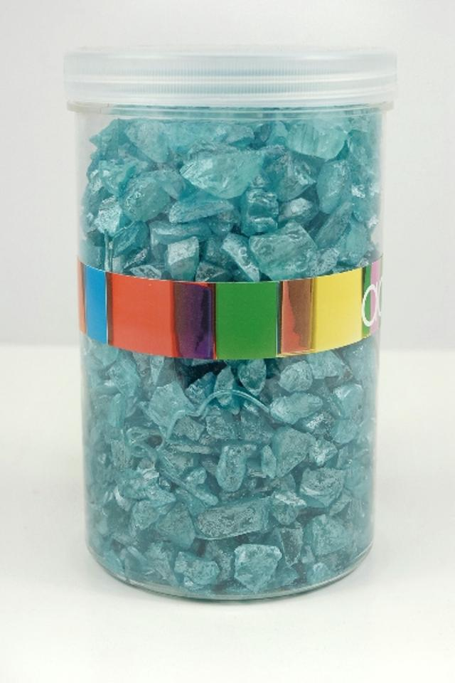 Save On Crafts Turquoise Pearlescent Vase Fillers Sea Glass