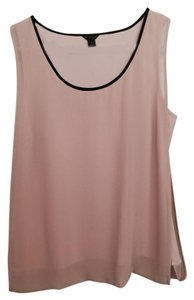 Ann Taylor Sleeveless Top Pale pink