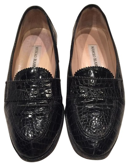Preload https://img-static.tradesy.com/item/17721142/manolo-blahnik-black-alligator-loafers-flats-size-us-5-regular-m-b-0-1-540-540.jpg