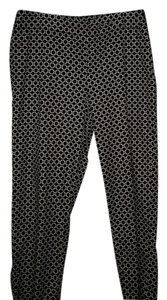 Talbots Capris Black and White