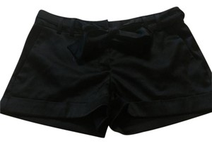 Express Satin Mini/Short Shorts Black