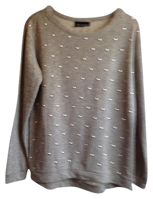 Preload https://item5.tradesy.com/images/inc-international-concepts-gray-with-silver-studs-sweatshirthoodie-size-8-m-1772189-0-0.jpg?width=400&height=650