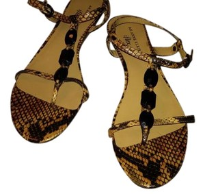 Anne Klein Reptile Sandals